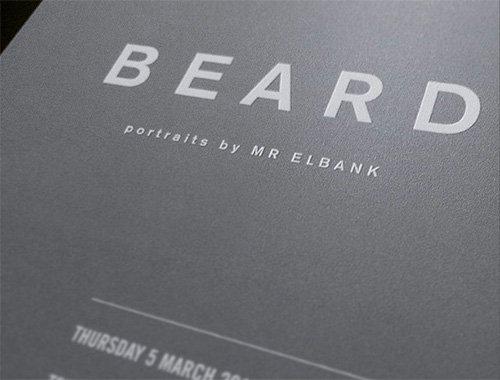 Beard exhibition.